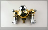 Wholesale New Arrival Luxurious Golden Star Hotel Customized Tub Faucet Mixer Tap emergi
