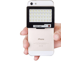Wholesale S60 Mini LED Powerful K W LED Photo Video Light for Canon Camera iPhone Samsung Other Smartphone