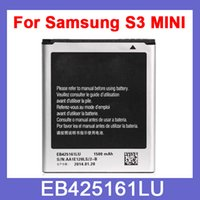 Wholesale Galaxy s3 mini replacement phone battery for Samsung Galaxy S3 mini i8160 i8190 battery EB425161LU MAh