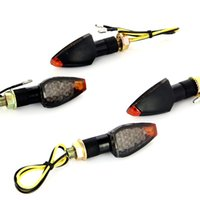 amber signal light - New Universal LED Motorcycle Turn Signals Indicators Blinker Amber Light Lamp Newly Freew shipping