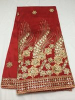 lace fabric wholesale - Latest fashion beauty design african velvet lace fabric yards new style CC