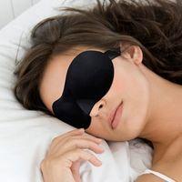Eye Mask eye mask - 3D Travel Sleeping Comfort Rest Eye Mask Sponge Eye Shade Cover Blinder Blindfold Eye Patch Random Color MPJ094