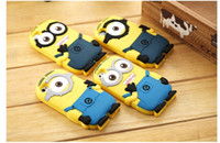 Girl galaxy note 2 - Despicable Me soft silicone case more minions for iphone S S C PLUS Samsung galaxy S3 S4 S5 S6 mini note ipod touch MYF233