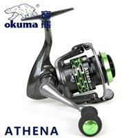 athena brand - Okuma Brand Athena Light Spool Fishing Spinning Reel for Carp Fishing Super Light weight Fishing Gear AT MS AT MS