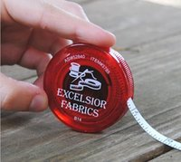 advertising giveaways - Promotional CM Tape Measures Gifts Round Retractable Cloth Tape Measure Automatically Release Band Tape Advertising Giveaways