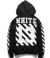 Wholesale New Off White Hood By Air Brand Men s Hooded Jackets Men Hip Hop Hoodies Winter Hoody Sweatshirts Man HBA Brand Clothing