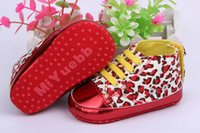 Cheap Baby girls shoes Leopard Toddler shoes soft sole baby Walkers Wear Comfortable kids Casual Shoes K010