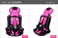 child harness - Baby Car Safety Seat Years Old Portable Child Car Safety Seat Kids Car Seat Chairs for Children Toddlers Car Seat Cover Harness
