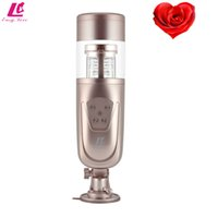 Wholesale Deep experience funny male automatic masturbator for man machine adult adult male sex toys vaginas wonderful artificial vagina for men