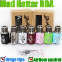 Atomizer hinges - New Mad Hatter RDA Colorful Mods Atomizer Hinge Tips e cig Electronic Cigarette Baal RDA Cloud Champ Kennedy turbo Troll GA rampage RBA DHL