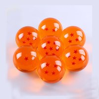 Wholesale 3 CM New In Box Dragon Ball Stars Crystal Ball Set of Dragon Ball Z Balls Complete set
