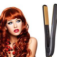 "Cheap Pro 1"" Ceramic Ionic Tourmaline Flat Iron Hair Straightener with Retail Box Free Shipping"