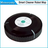 Wholesale 2015 New Dust Cleaner Auto Cleaning Robot for Pets Auto Sweep Cleaner Robot Microfiber Smart Robotic Mop Automatical by DHL