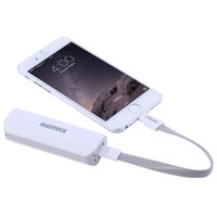 banking supplies best - 2015 Best REMAX quantity milliampere gift brand mobile phone charging treasure mini mobile power supply power bank
