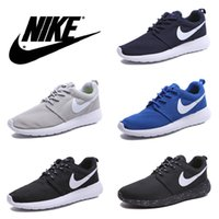 prices shoes - Nike Rosherun Running Shoes For Men Women Lightweight Roshe Run Athletic Shoes Black Navy Brown Colors Low Price