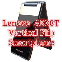 flip camera - Lenovo A588T Vertical Flip Smartphone Inch Android MTK6582 GHz Quad Core GB ROM MB RAM x800 IPS MP Dual SIM Cards GPS