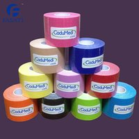 Cheap 10pc 5cm*5m kinesio tex tape athletic tapes kinesiology sport taping strapping good quality football exercise muscle kinesiotape