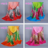 best wing design - Brand Design Fashion Chiffon Scarves For Women Girl Colorful Wing Pattern Scarf Very Light Best Gift To Her XQ161
