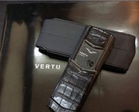 Wholesale Beauty HealtNew arrival luxury signatue CEO Vertu mobilephone mobile phone is vertu Very high quality and Signature cell