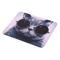 Wholesale Cat Picture Anti Slip Laptop PC Mice Pad Mat Mousepad For Optical Laser Mouse