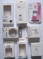 Electronics apple box set - Retail Box For Samsung galaxy Apple s s c charger charger set car charger