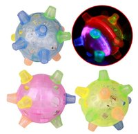 Wholesale Music bouncing ball Flash children s educational toys Luminous ball dancing