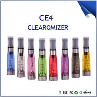 Cheap 2014 New CE4 atomizer for Ego Electronic cigarette1.6ml with 8 Colors