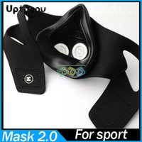 boxing equipment - Mask High Altitude Simulation Mask Crossfit Yoga Fitness Fitness Equipment Training ourdoor Equipment with retail box