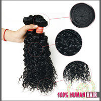 Cheap On Sale Brazilian Virgin Hair Weaves Deep Wavy Curly 3Pcs Lot Brazilian Curly Remy Hair Weave 100G Bundle Human Hair Extensions Deep Curly