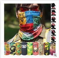 Wholesale 2015 New Bicycle Multifunctional scarf seamless outdoor scarf magic skeleton riding sports collar dust proof mask R00707