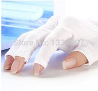 armour glove - Manicure tools Nail art supplies necessary uv phototherapy armour good quality gloves Nail art helper