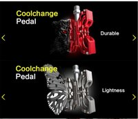Wholesale Butterfly Shape Aluminium Alloy Pedal Skid Resistance Ultralight Refit Pedal Cyling Equipment Outdoor sports