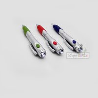 best led companies - 1000pcs a HOT light led pen best new year company gifts pen with led custom imprinted with your logo text d pen led