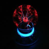 ball generator - NEW Magic Plasma Ball Crystal Neon Sphere Negative Ion Generator Car Interior Light