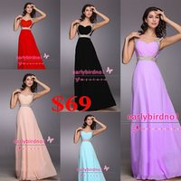 chiffon pageant gowns - 2015 Cheap In Stock Pageant Dresses Sexy New V Neck Cap Sleeve Beaded Crystals Chiffon A Line Bridesmaid Prom Party Christmas Gowns CPS108