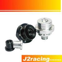 Wholesale J2 RACING STORE NEW HQ quot MM Dual Piston Blow off valve DV Turbo T For VW Golf MK4 Jetta A4 B5 Black Silver PQY5741