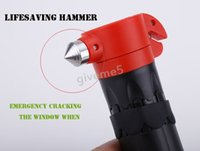 Wholesale Tool Solutions in1 Emergency Rescue Hammer Tool Multi functional Emergency Hammer With LED Light Lamp b2