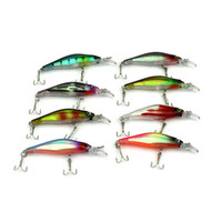 Wholesale Promotion Colors Fishing Lures Crankbait Minnow Hooks Crank Baits CM G lure m topwater