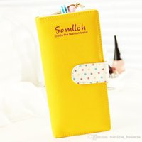 Wholesale Woman Lovely Wave Point Wallet women wallet long pattern Many colors available HW X58
