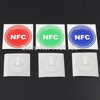 Wholesale 3pc Round Smart NFC Tag Sticker for BlackBerry for Samsung S4 Note3 for Nexus for Nexus7