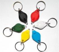 Cheap hot sale Mini Torch Key Chain Ring PK Keyring White LED Lights UV LED Light LED Bulbs Ton II Photon 2 Micro Light LED Keychain Flashlight