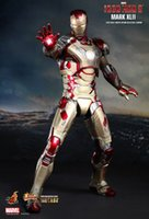 Wholesale hottoys scale Iron Man doll action figures Soldier Finished Product Video action figures model Limited Edition Collectible