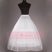 tulle petticoat - Bridal Petticoat Cheap High Quality Two Hoops One Tulle Petticoat Ball Gown Petticoat One suits All self adhesive band