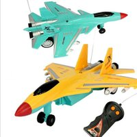 Wholesale Remote control fighter high grade children toy electric two way remote control aircraft aircraft model toy