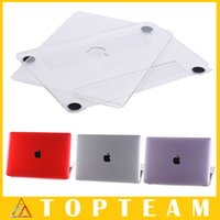 Wholesale High Quality Crystal Cases For Apple macbook inch Skin Protective Cover Shell Colors Optional