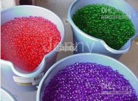 Wholesale 11 colors Water beads water ball magic Crystal soil Jelly water muds for plant wedding party deco