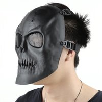 airsoft guns brands - Skull Skeleton Army Airsoft Paintball BB Gun Full Face Game Protect Mask Brand New