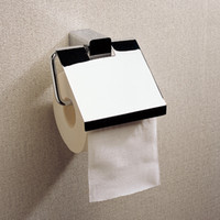 Wholesale Wall Mounted Toilet Roll Holder With Chrome Brass Fashion Kitchen Toilet Paper Holders For Sale