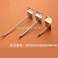 Wholesale Supermarket Slatwall Hook Shop Display cm Length mm Diameter dandys