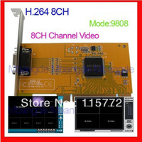 Wholesale 2013 CH Video H FTPS PCI DVR Card CCTV Security Camera System Video Surveillance Mobile Remote View